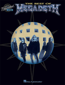 Hal Leonard The Best of Megadeth