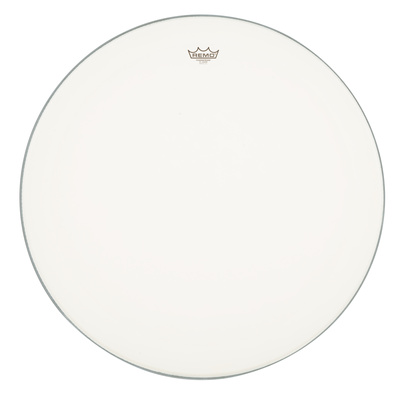 remo 28quot  powerstroke 4 bass drumhead  white  coated  doubleply head