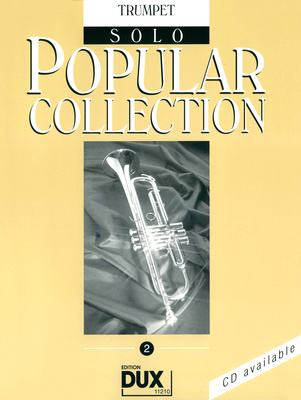 Dux Popular Collection 2 Songbook für Trompete Solo