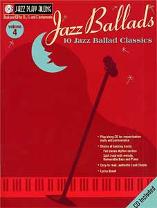 HAL LEONARD JAZZ BALLADS JAZZ PLAY-ALONG - Thomann UK Cyberstore