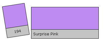 Lee Colour Filter 194 Surpr. Pink