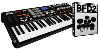 Akai MPK 49 Bundle