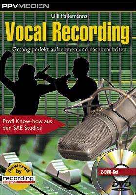 Produktbild PPV Medien Vocal Recording DVD von Thomann