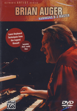 Alfred Music Publishing Brian Auger Hammond B-3 DVD