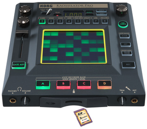 Korg Kaoss Kaossilator Pro SD Set