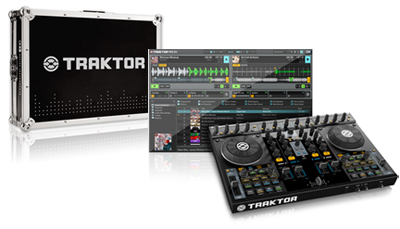 Native Instruments Traktor Kontrol S4 Case Bundle