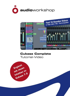 Produktbild Audio Workshop Cubase Complete Tutorial DVD von Thomann