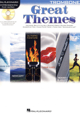 Hal Leonard Tromb.Play-Along| Great Theme