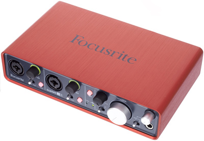 Produktbild Audio-Interface Focusrite Scarlett 2i4 von Thomann